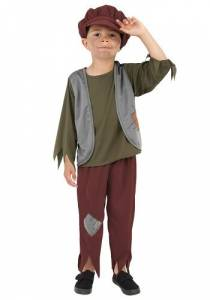 Kids BA Victorian Poor Boy Costume