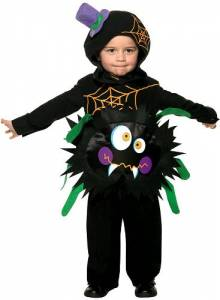 Kids Crazy Spider Costume