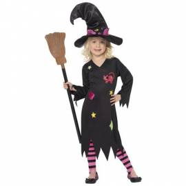Kids Cinder Witch Costume