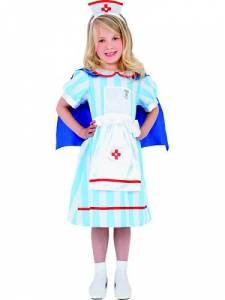 Kids Vintage Nurse Costume