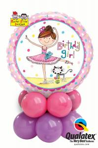 Mini Display - Birthday Ballerina
