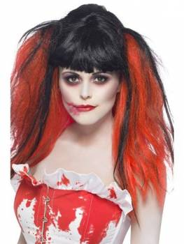 Blood Drip Wig- Black