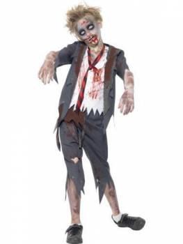 Kids Zombie Schoolboy Costume
