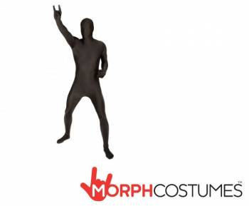 Mens Black Morphsuit