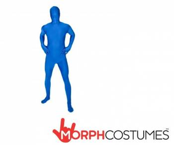 Mens Blue Morphsuit