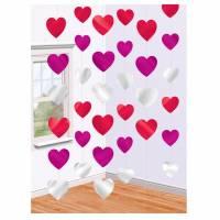 Valentine Heart String Decorations