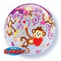 Love monkeys bubble