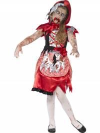 Kids Zombie Miss Hood Costume