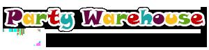Party Warehouse logo